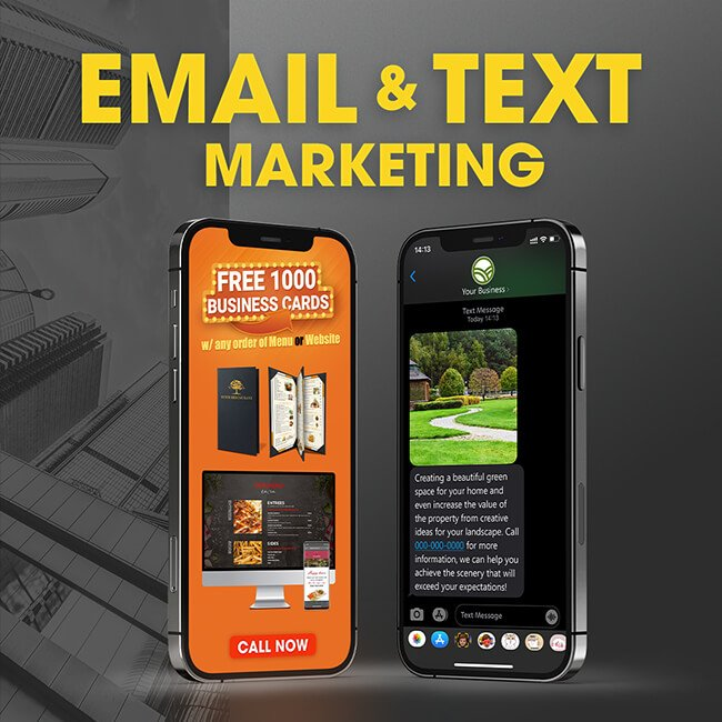 Email & Text Marketing